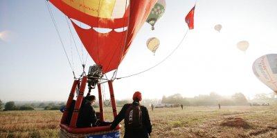 Второй тренировочный полет встречи воздухоплавателей прошел в Великих Луках