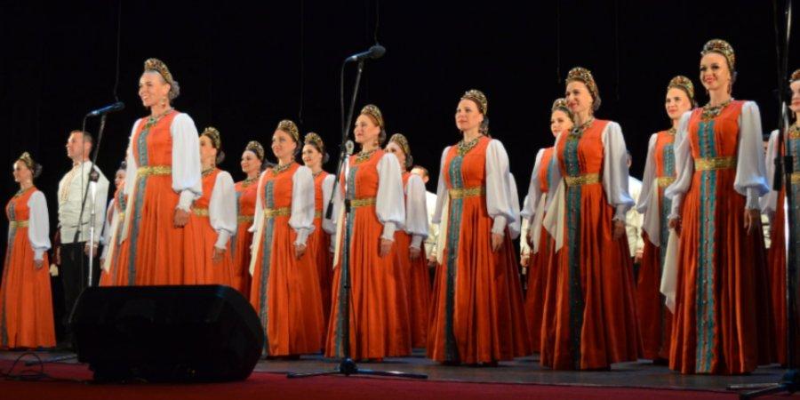 В Великих Луках состоялся концерт Уральского народного хора