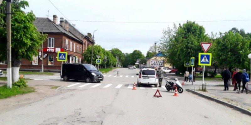За неделю в Псковской области произошло 17 ДТП