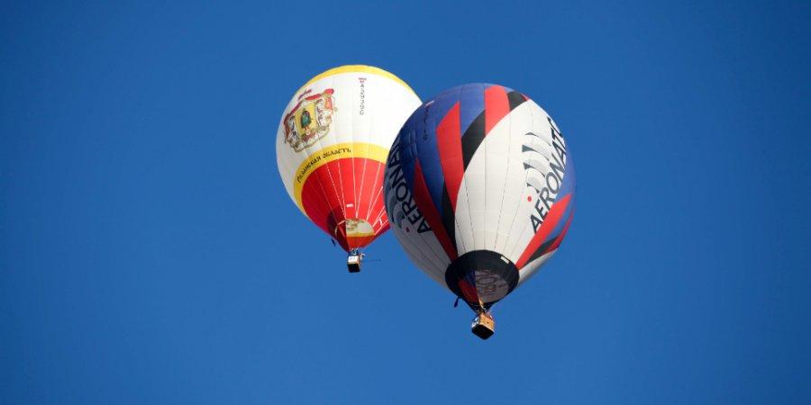 Второй спортивный полет воздухоплавателей состоялся в Великих Луках