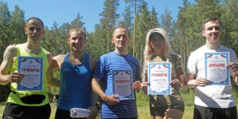 Соревнования по служебному биатлону прошли в Псковской области