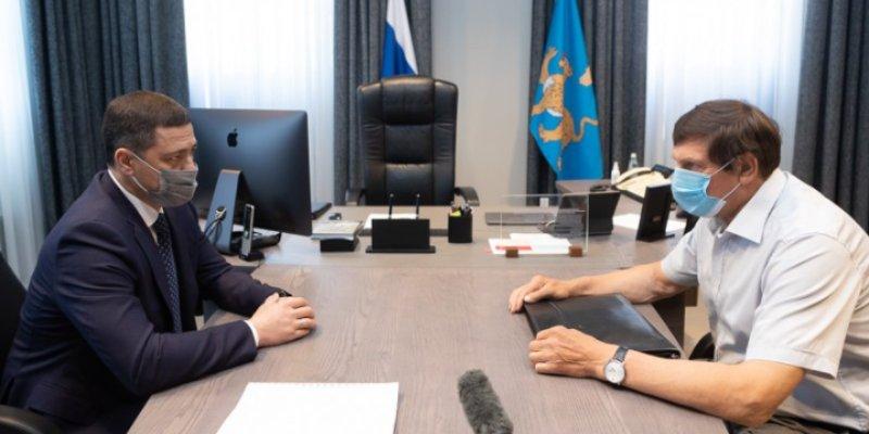 Михаил Ведерников встретился с Главой Великих Лук