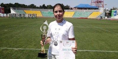 Великолучанка завоевала серебряную медаль всероссийской Спартакиады