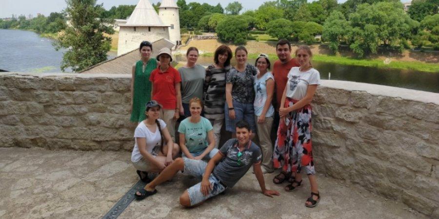 Художники из Москвы прибыли в Псковскую область