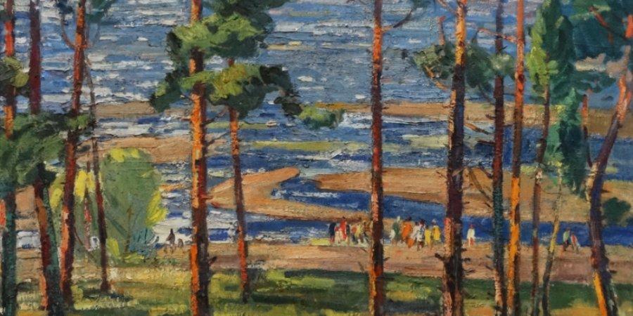 В Пскове открывается выставка живописи А.С. Силина