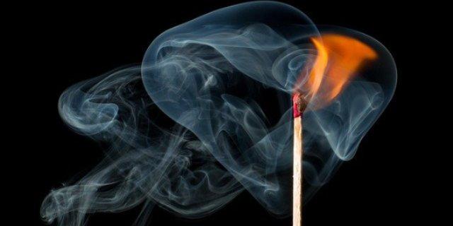 На пожаре в Дно погиб мужчина