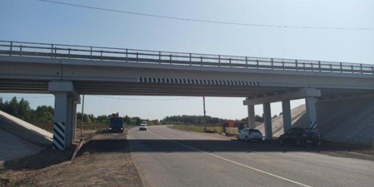 Открыто движение по путепроводу через Северный обход города Пскова