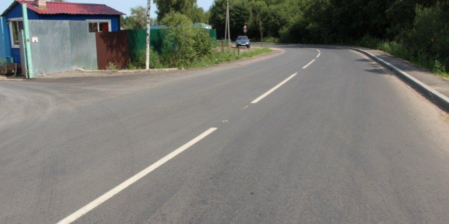Еще один объект «дорожного» нацпроекта введен в эксплуатацию в Пскове