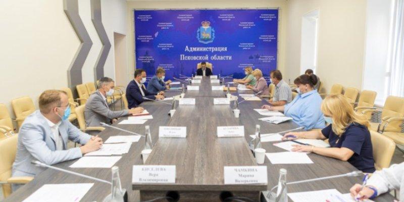 Прошло совещание повопросам строительства социального городка в Борисовичах