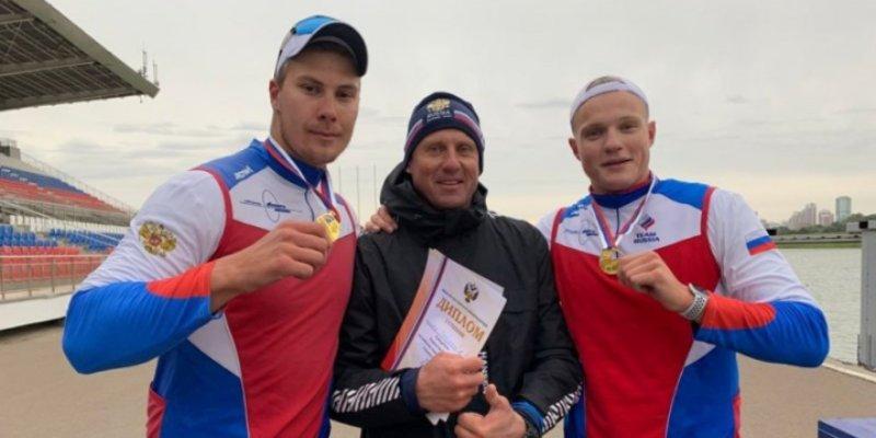Псковский спортсмен стал первым на Первенстве России по гребному спорту