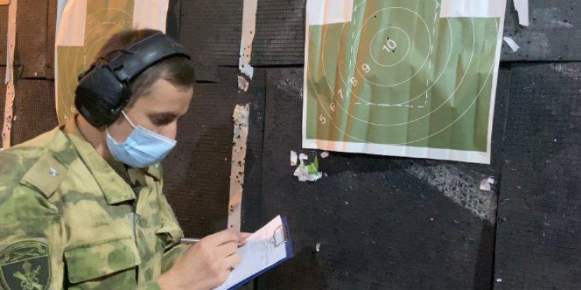 В региональном управлении Росгвардии прошли соревнования по стрельбе