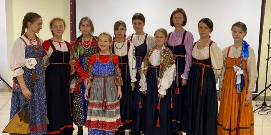 Фольклорный ансамбль «Уграда» выступил в Пскове
