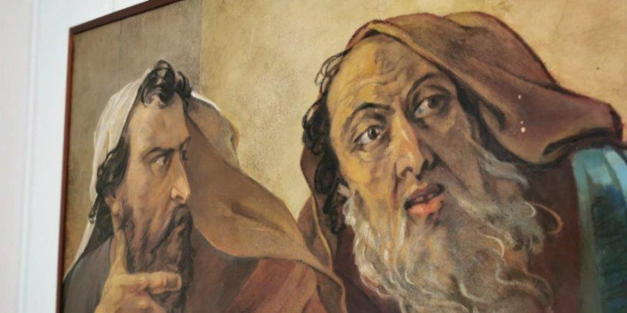 """О реставрации в Исаакиевском соборе рассказывает новая выставка в """"Михайловском"""""""